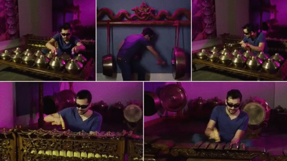 """Hombre """"orquesta"""" capaz de tocar 90 instrumentos musicales"""