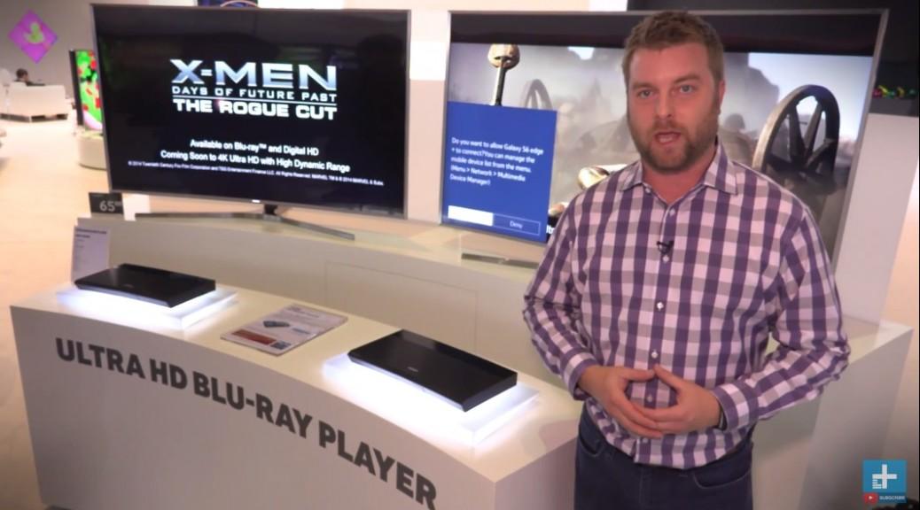 Samsung anuncia su reproductor Blu-ray Ultra HD 4K