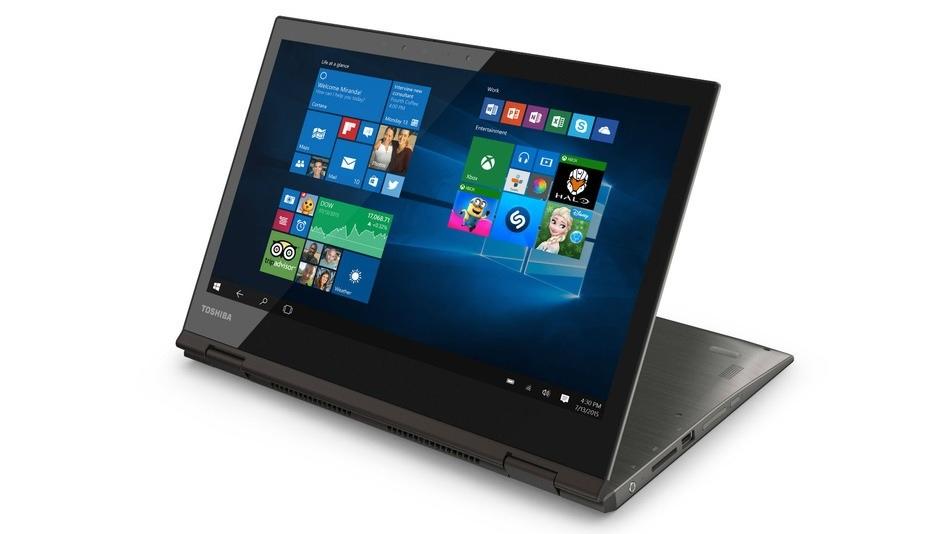Toshiba introduce su portátil/tablet con pantalla 4K