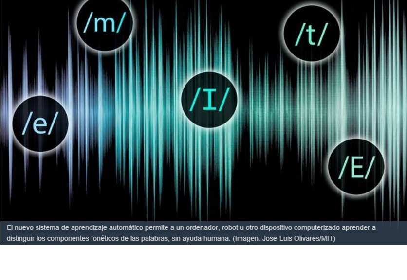 Nuevo sistema de aprendizaje automático de lenguaje hablado para computadores y robots