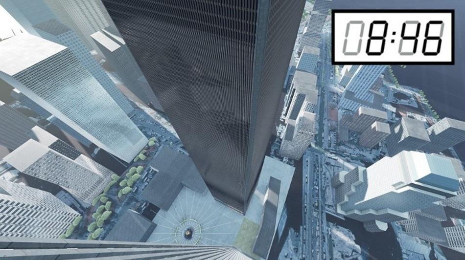 Los eventos del 9/11 en realidad virtual desde adentro