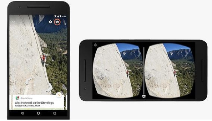 Google Street View ofrece ahora realidad virtual 360 grados