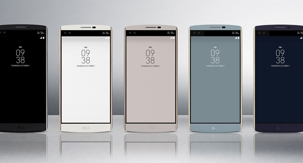 LG presenta su smartphone V10 con 3 cámaras y 2 pantallas