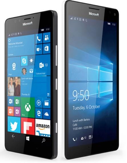 Microsoft presenta sus smartphones Lumia 950 y 950XL
