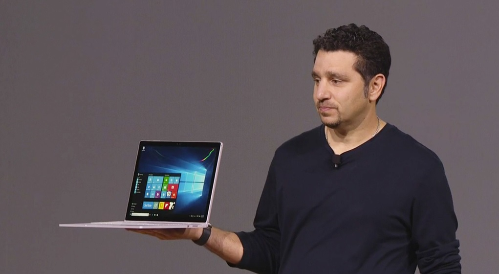 Microsoft introduce su primer laptop Surface Book