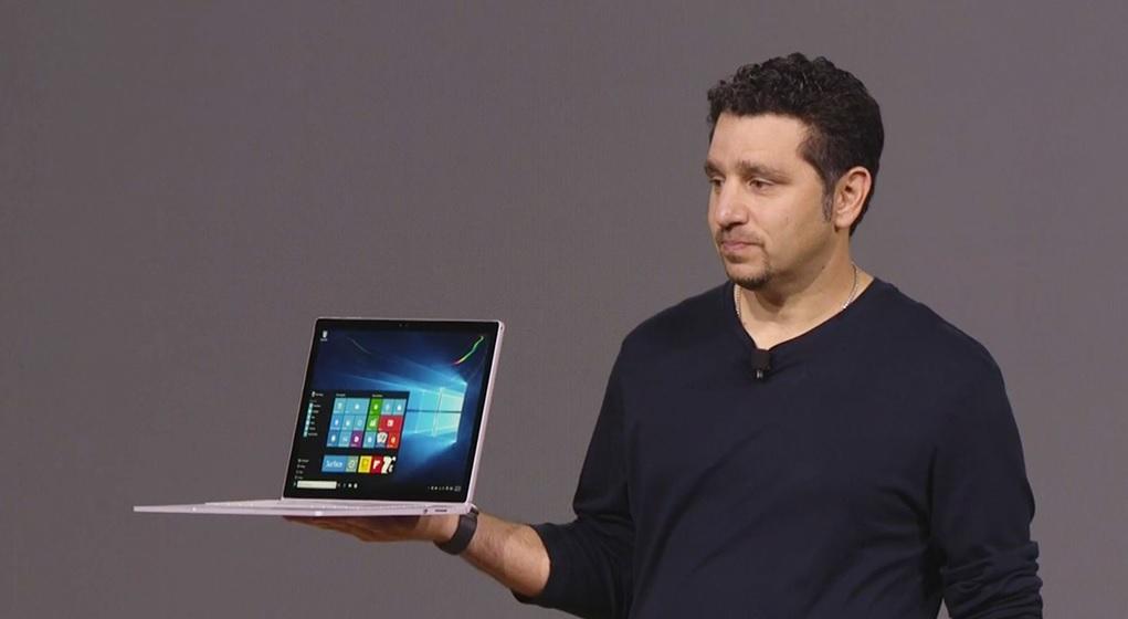 Microsoft introduce su primer laptop Surface Book