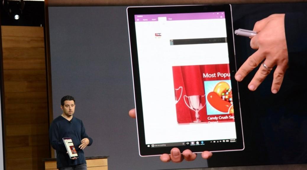Microsoft anuncia su nuevo tablet Surface Pro 4