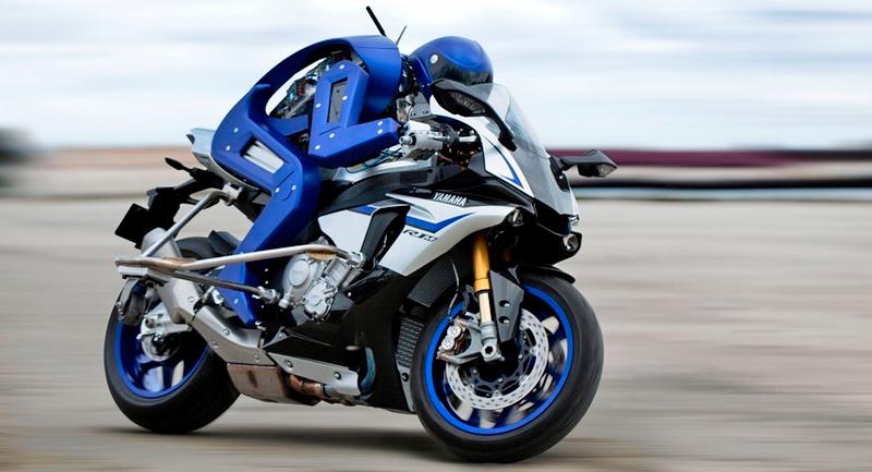 Yamaha desarrolla su robot motociclista