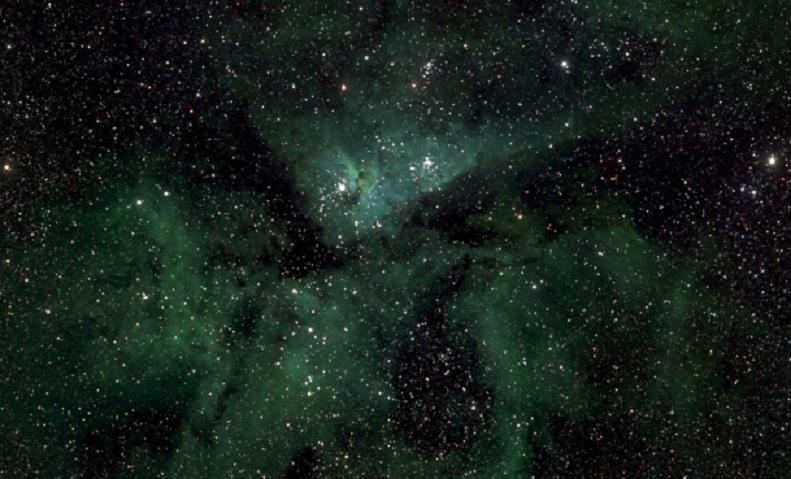 Presentan la imagen astronómica más grande hasta la fecha de la Vía Láctea