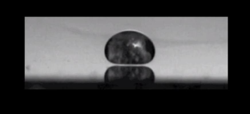 Cómo hacer levitar y bailar a una gota de oxígeno líquido?