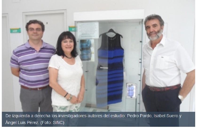 Científicos resuelven el misterio del vestido de colores: el problema están en la foto