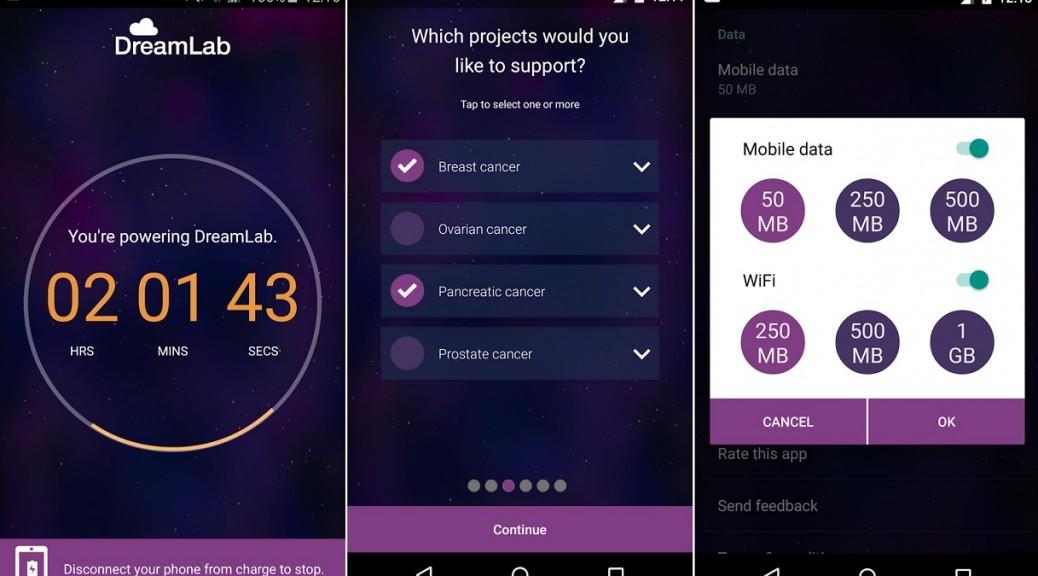 Su teléfono puede ayudar a curar el cáncer, mientras usted duerme, gratis para Android