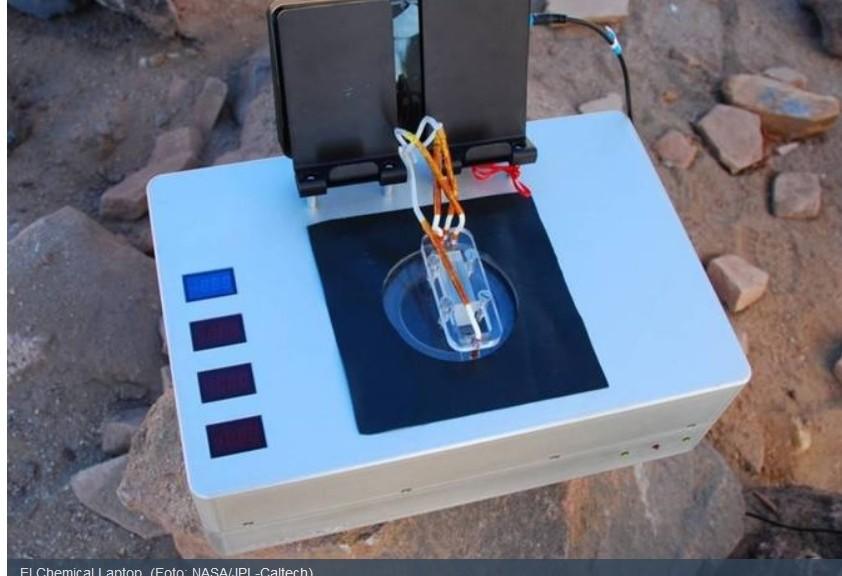Diseñan laboratorio miniatura para detectar vida fuera de la Tierra