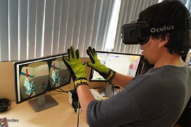 Crean guantes para sentir frío y calor en realidad virtual