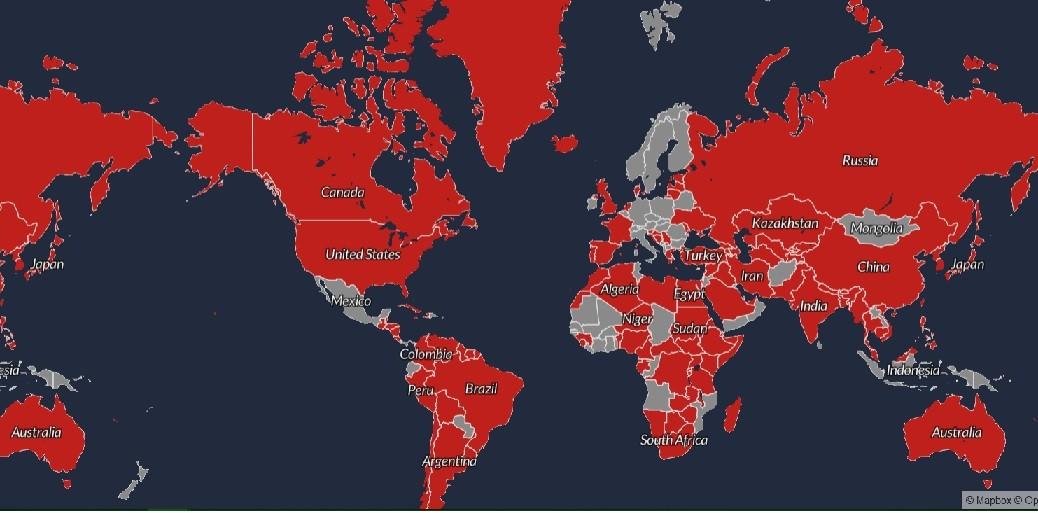 Mapa interactivo muestra las disputas territoriales en el mundo