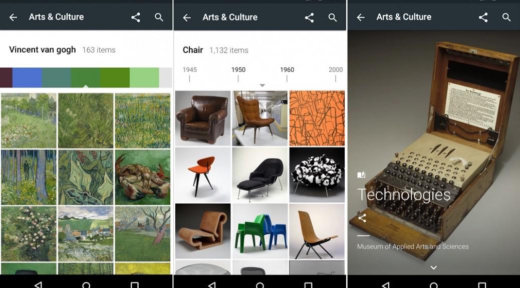 Explore arte y cultura en más de 850 museos, gratis para iPhone, iPad, iPod, Android
