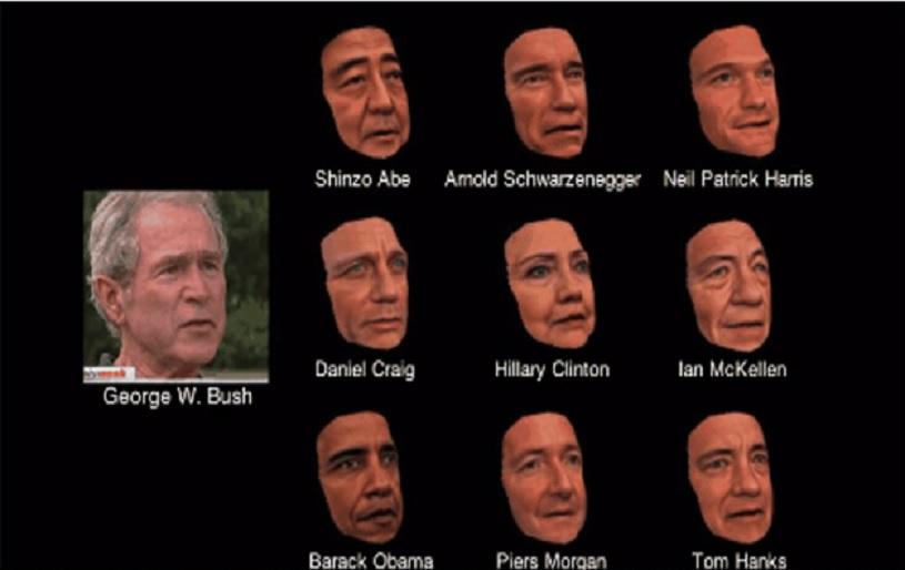 Desarrollan software que puede transformar su rostro al de cualquier otra persona