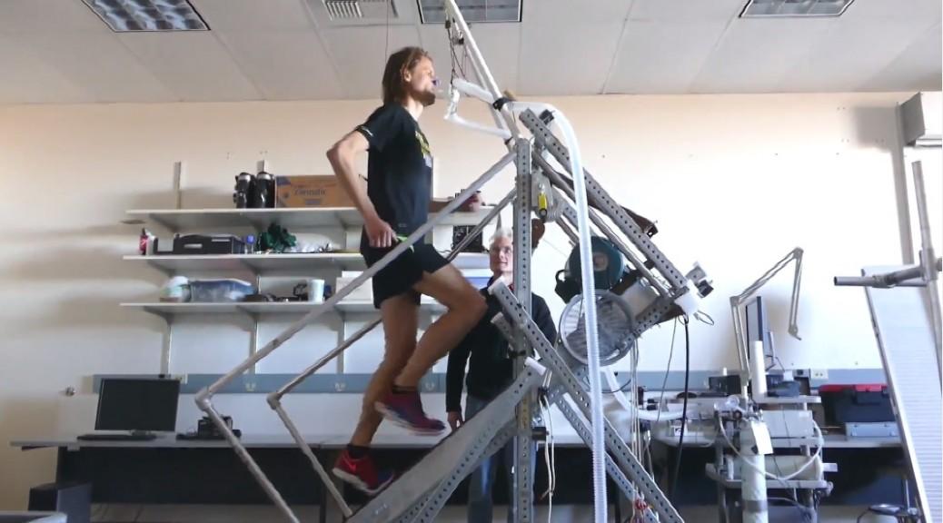 Fascinante descubrimiento para atletas que corren sobre pendientes muy inclinadas
