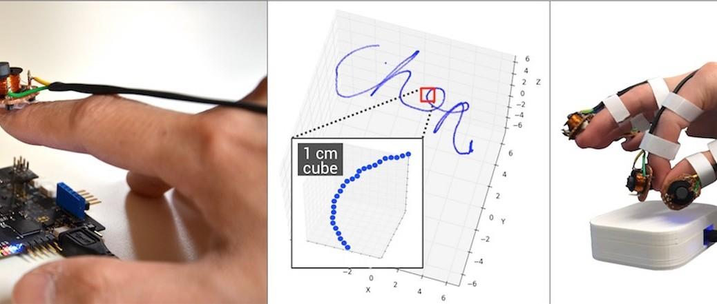 Imanes rastrean sus manos en realidad virtual