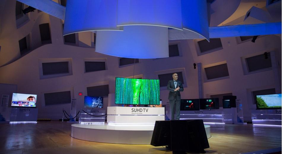 Samsung presenta su TV 8K curvo de 98 pulgadas