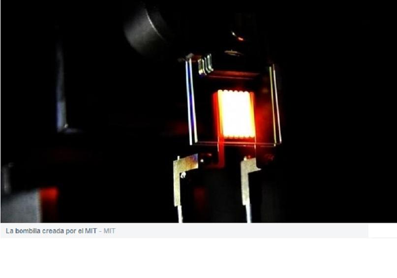 Crean una bombilla incandescente tan eficiente como las LED