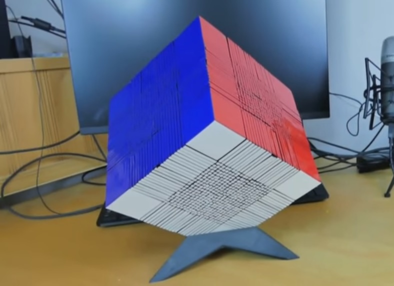 Viviremos lo suficiente para ver resuelto este cubo de Rubik de 22x22?