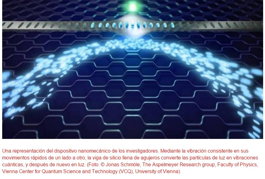 Logran comunicación entre tecnologías cuánticas diferentes
