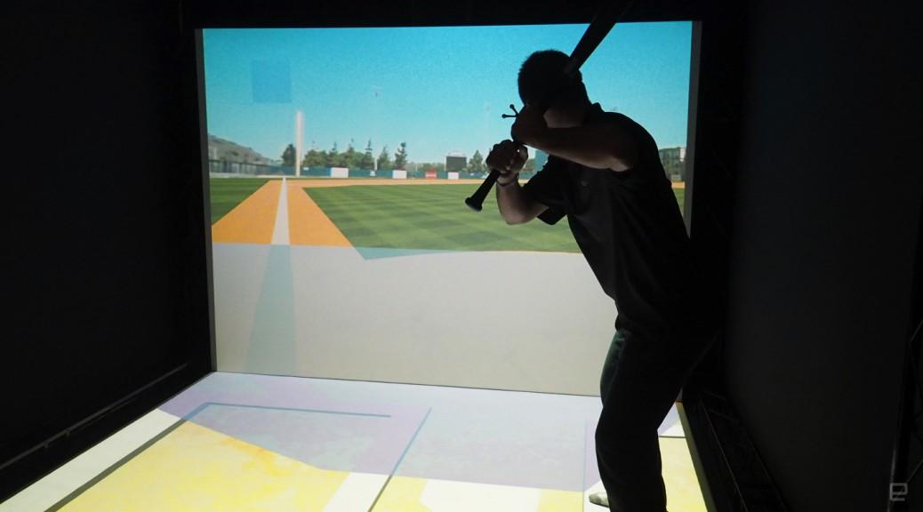 Un simulador de béisbol virtual podría cambiar cómo los bateadores entrenan