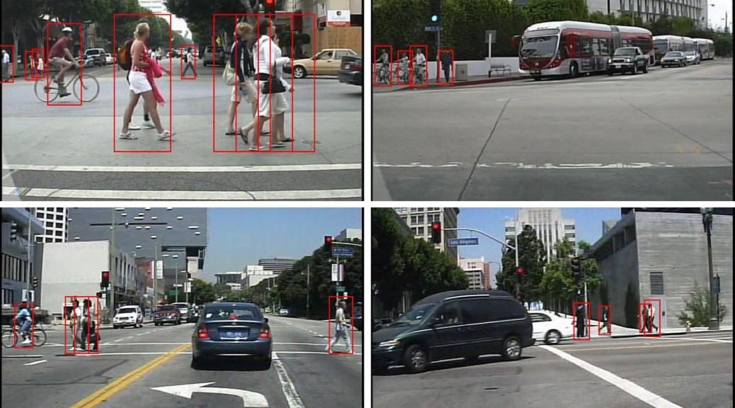 Algoritmo de detección de peatones más rápido y preciso