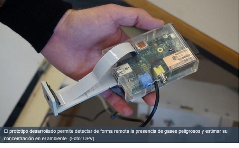 Desarrollan detector remoto de gases peligrosos