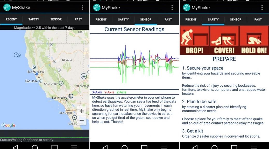Convierta su teléfono en una estación sísmica portátil, gratis para Android