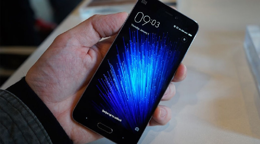 Xiaomi presenta su nuevo smartphone Mi 5