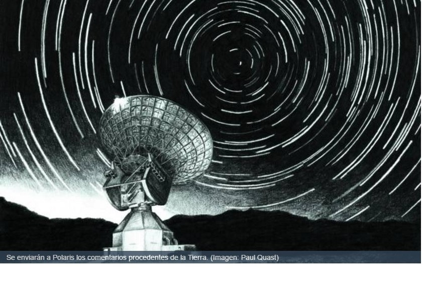 Enviarán una cápsula de tiempo con nuestros mensajes a la Estrella Polar