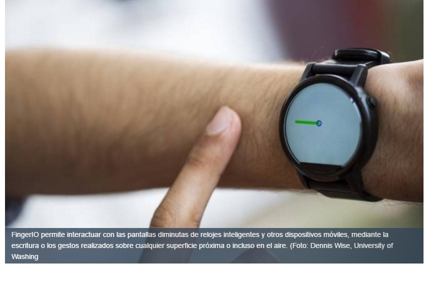 Relojes inteligentes controlables mediante movimientos de las manos sin tocarlos