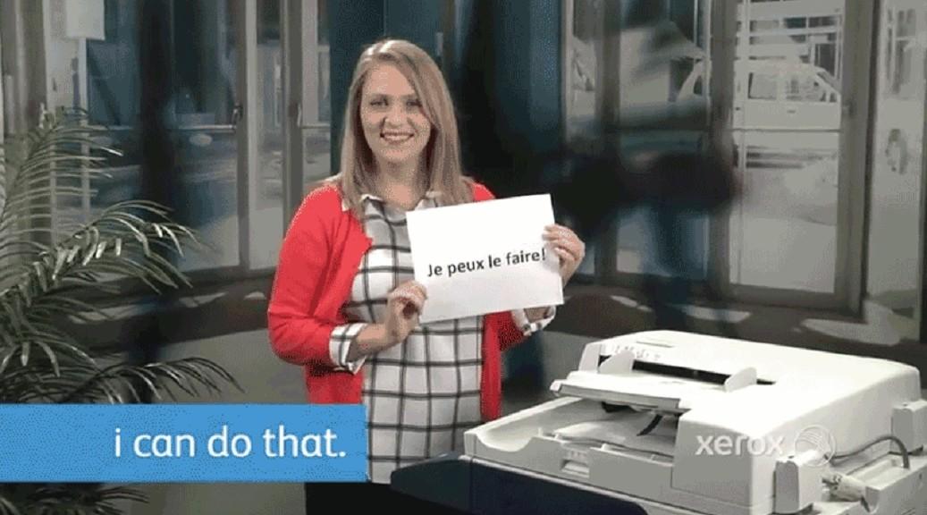 Las copiadoras Xerox traducen lo que se está copiando