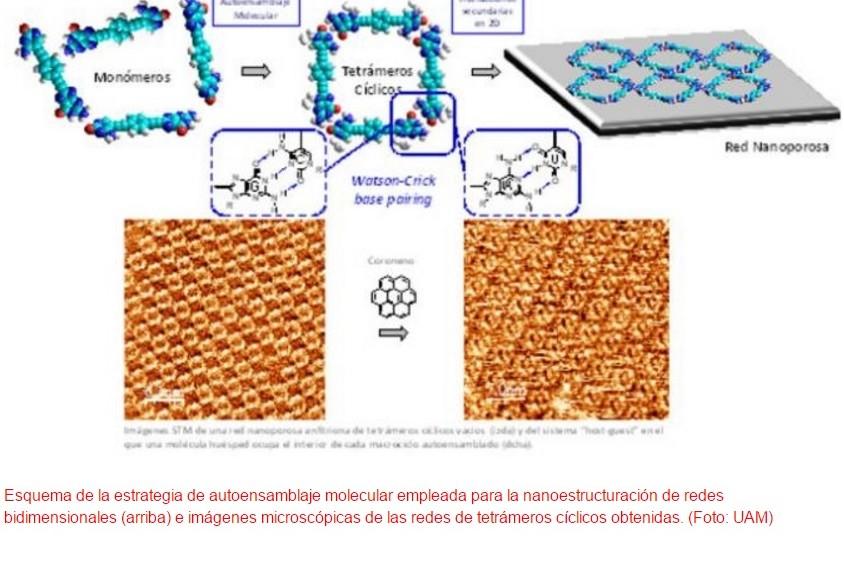 Autoensamblaje molecular bioinspirado en el ADN