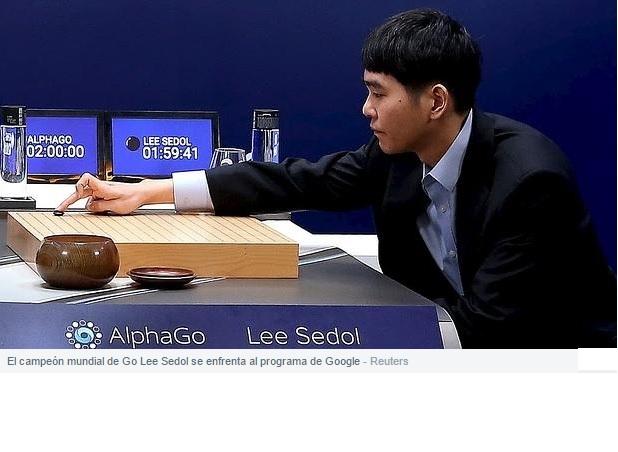 Programa de Google vence al campeón mundial de Go