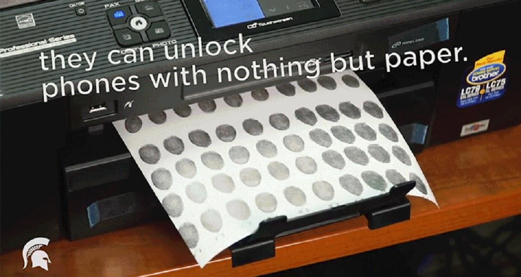 Cómo hackear un teléfono con una impresora y tinta conductiva