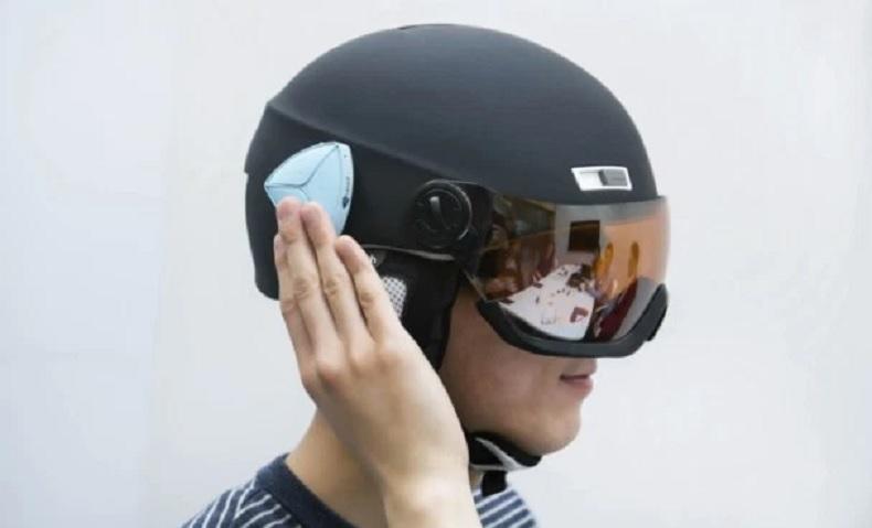 Ahead conecta su casco actual con su smartphone vía Bluetooth