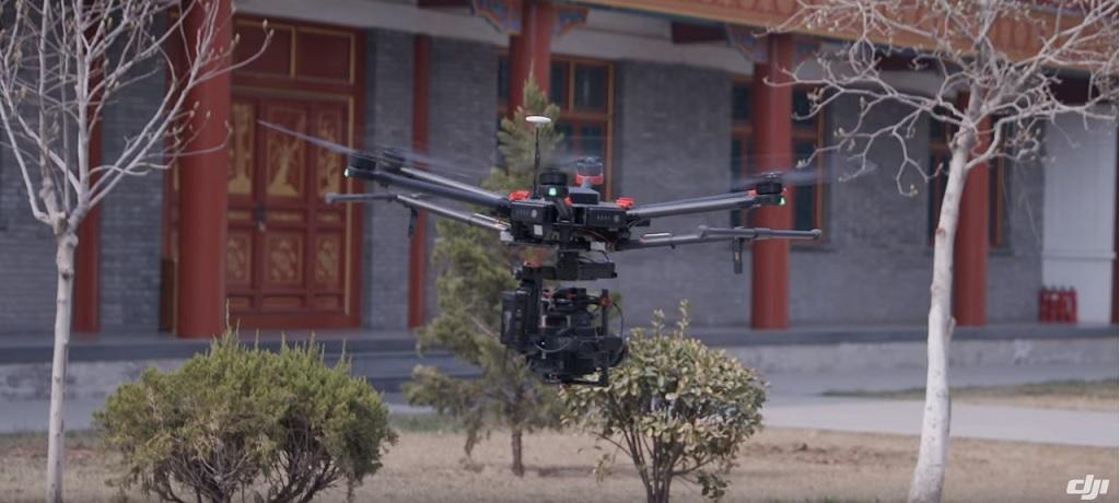 DJI M600 es un drone enfocado al público profesional y al cine
