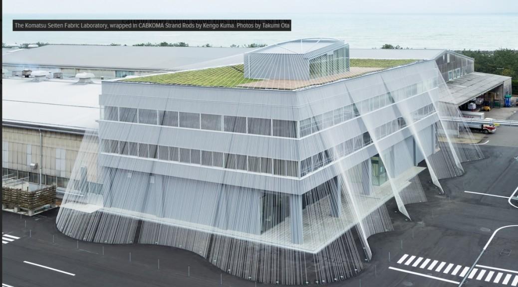 Fibra de carbono para proteger un edificio contra un terremoto