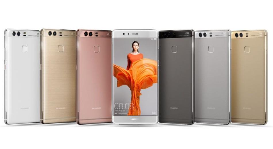 Huawei presenta el P9, un smartphone con doble cámara trasera