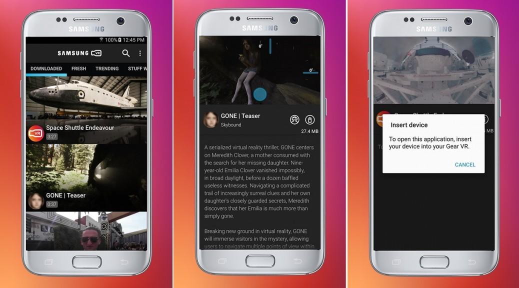 Aplicativo gratuito de Samsung le permite experimentar la realidad virtual sin necesidad de auriculares
