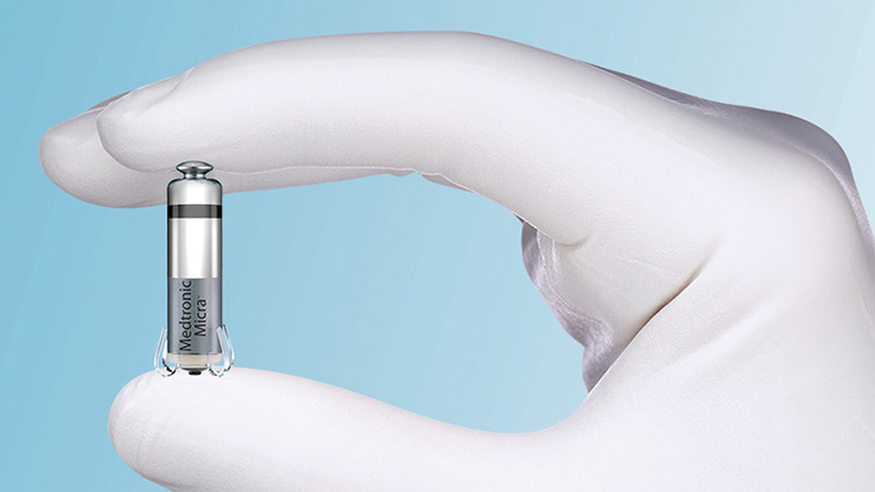 El marcapasos más pequeño del mundo se puede implantar sin cirugía