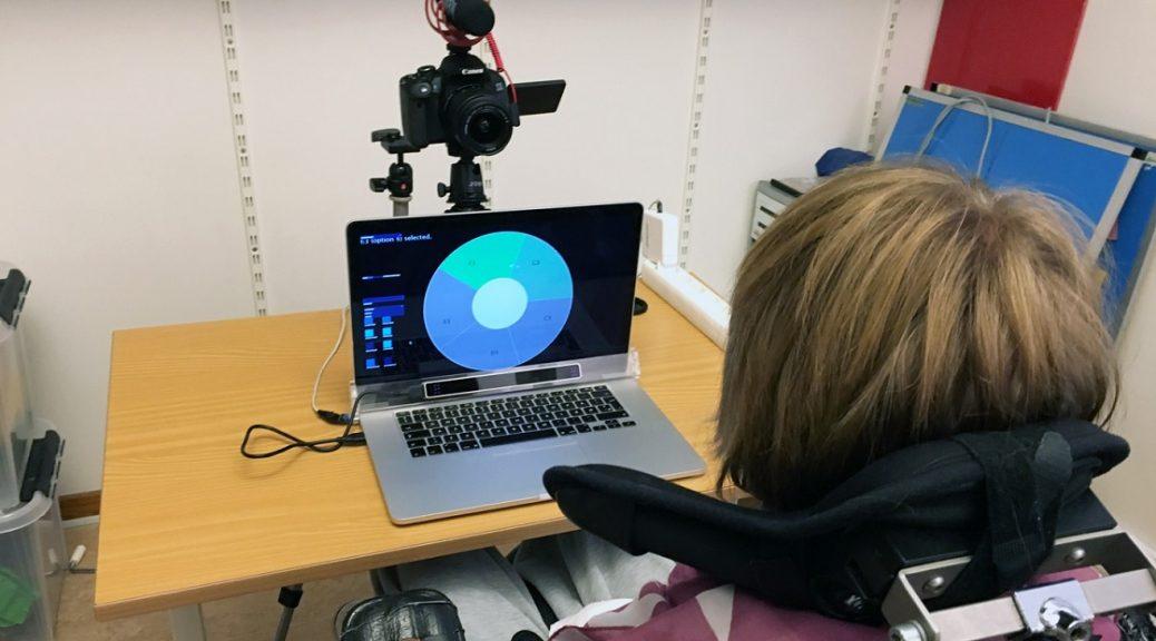 Una aplicación de seguimiento ocular le permite hacer música solo con sus ojos y gestos