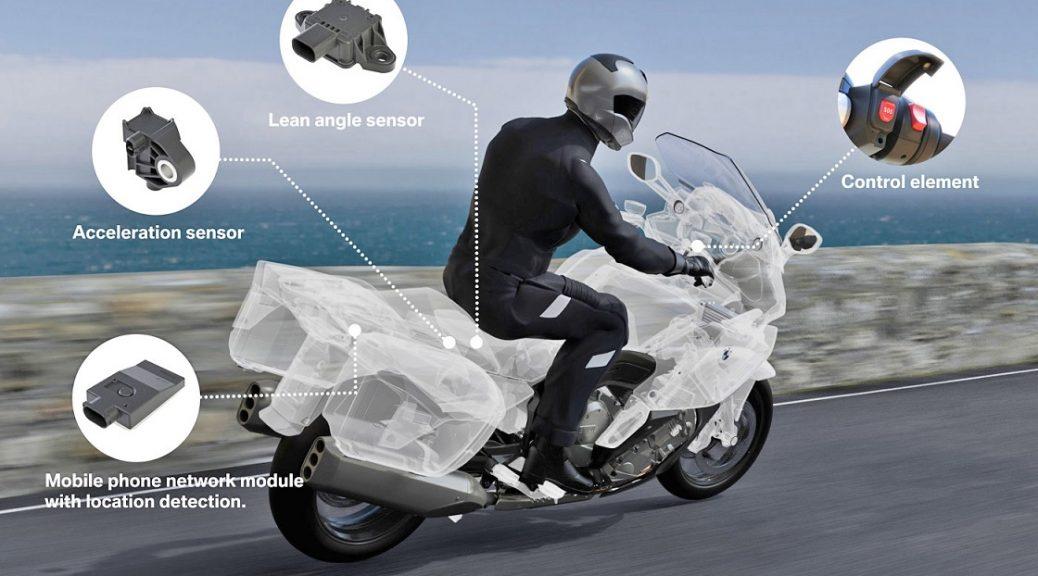 BMW tiene el primer sistema de emergencia inteligente para motocicletas