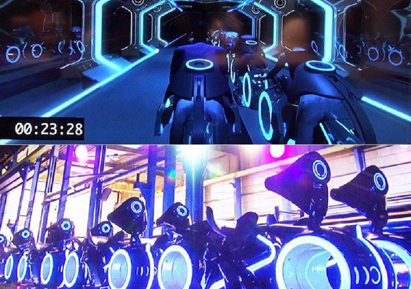 Disneyland inaugura este año su montaña rusa inspirada en TRON