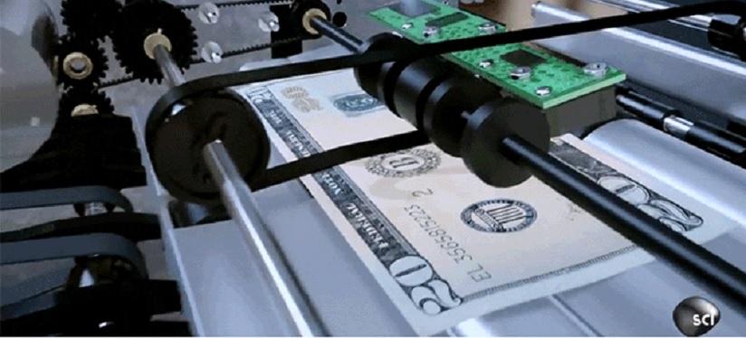 ¿Cómo los cajeros automáticos siempre entregan la cantidad excta de dinero?