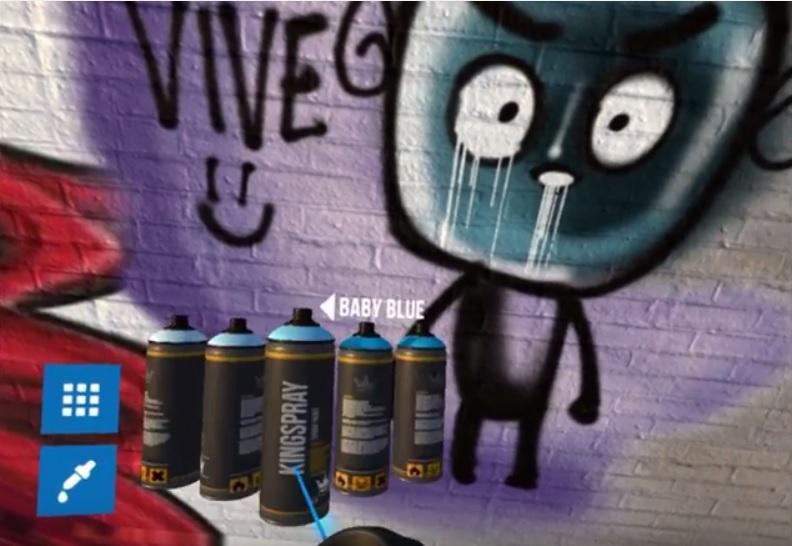 Ahora puede crear graffitis en realidad virtual