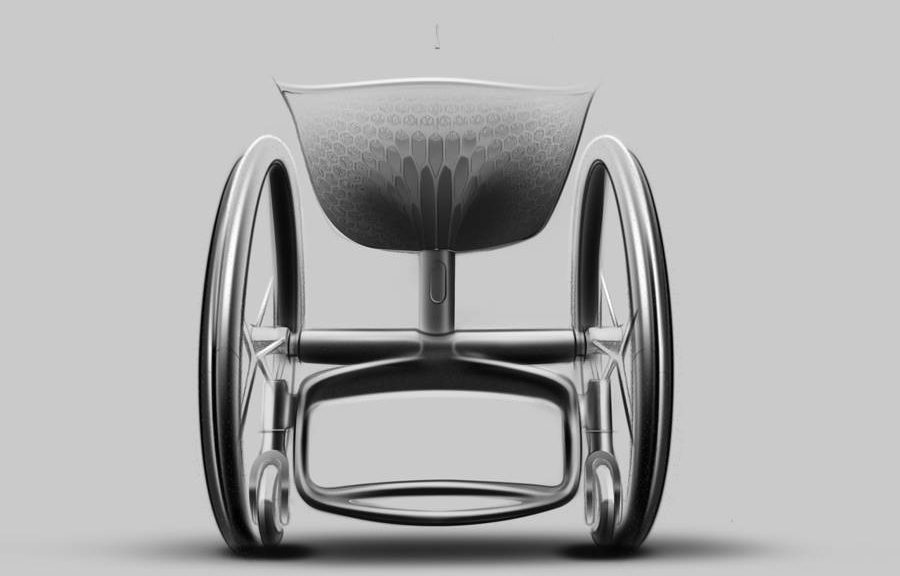 La impresión 3D ayuda a hacer sillas de ruedas más cómodas